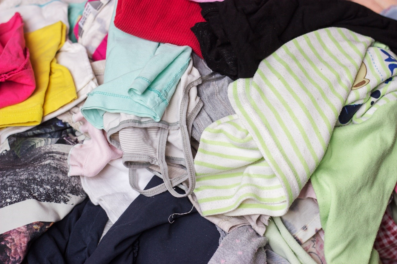 clothes ready to be upcycled